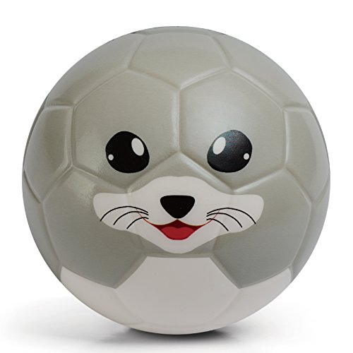 Chastep Toddler Soft Training Animal Soccer 6 Inch Mini Foam Kawaii Toy Ball for Kids - Cutee Seal