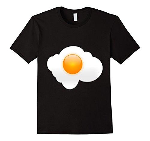 Mens Sunny Side Up Fried Egg T-Shirt Favorite Breakfast F...