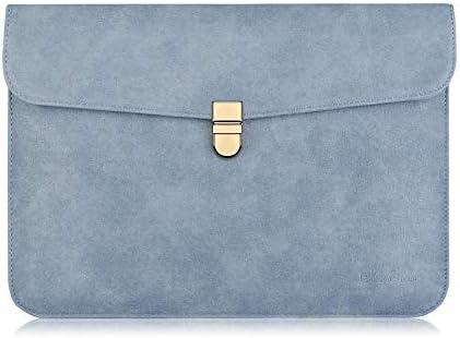 GFLD Ordenador portátil Bolsa Apple Lenovo Notebook Bolso Forro Ultrafino Embrague Bolso Impermeable de Cuero Conjunto Cuero Casual Set BU Siness Oficina