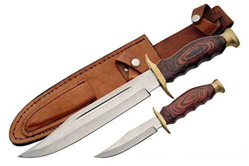 (Szco Supplies 2 Piece Hunting Knife Set)