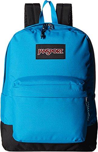 jansport-unisex-black-label-superbreak-blue-crest-backpack