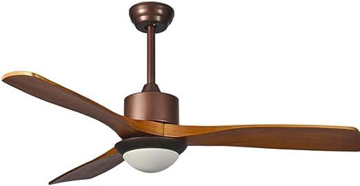 Luz del ventilador de techo Ventiladores de techo LED se enciende ...