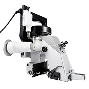 Happybuy Bag Closer Machine 110V Portable Electric Sewing Machine 90W Excellent Endurable Level Seaming Machine for Woven Snakeskin Bag Sack from Happybuy