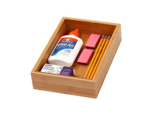 Home Bamboo Drawer Organizer 6x9x2 product image
