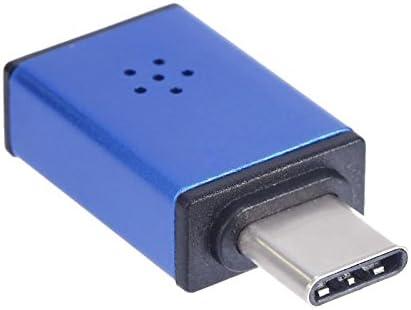 estiq Super Mini portátil USB3.1 Tipo C puerto micrófono adaptador ...