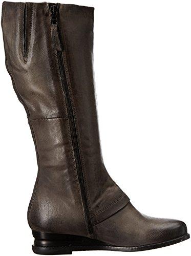 Miz Mooz Women's Bennett Fashion Boot, Brandy, 9 US Charcoal