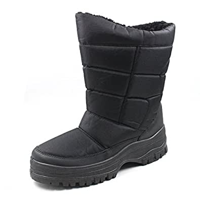 Amazon.com | SkaDoo Mens Snow Winter Cold Weather Boots