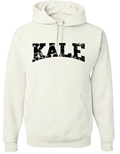 Adult-Kale-Vegan-Vegetarian-Black-Hoodie-Hooded-Sweater