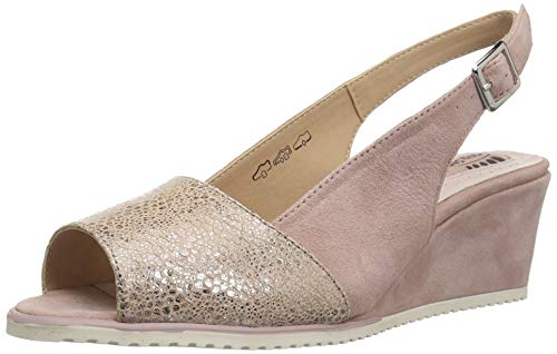 Style Women's Evia Pink Spring Light Sandal Step Leather 6qOwwZR
