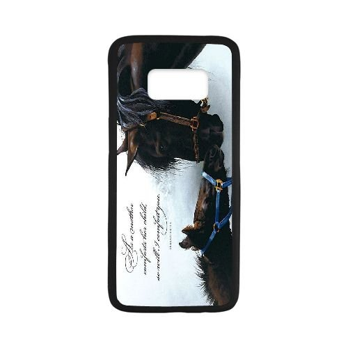 Amazon.com: Horse Personalized Print Slim-Fit Phone Case for ...