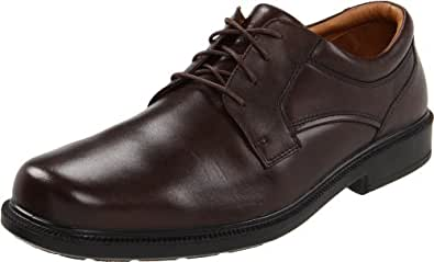 Hush Puppies Men's Strategy Oxford,Brown,8 W US