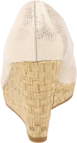 Bandolino Fabric Womens Toe Womens Auburn Bandolino Pump Peep Gold adq8w1d