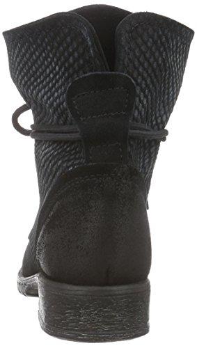 021 Schwarz Bottes blk black Combat Femme 25233 Tamaris Noir Str qwSxAzZnXE