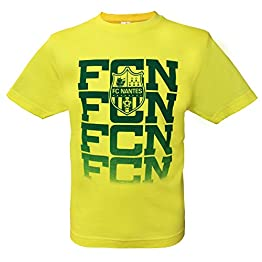 T-shirt FC NANTES - Collection officielle FCNA - Ligue 1 football - Taille enfant garçon