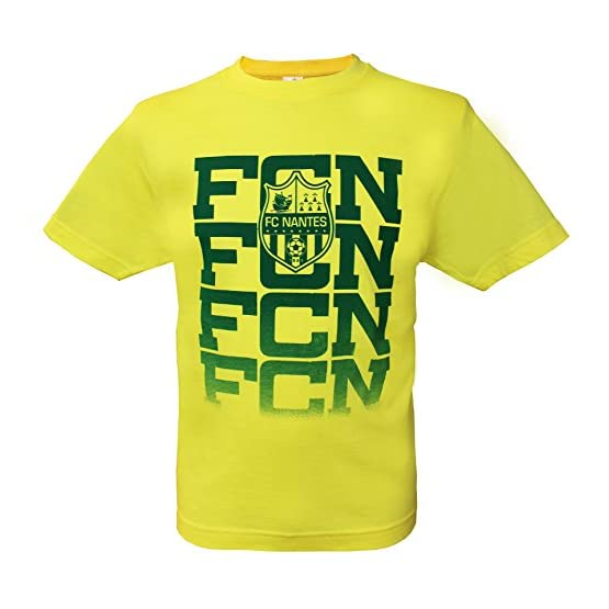 T-shirt FC NANTES - Collection officielle FCNA - Ligue 1 football - Taille enfant garçon