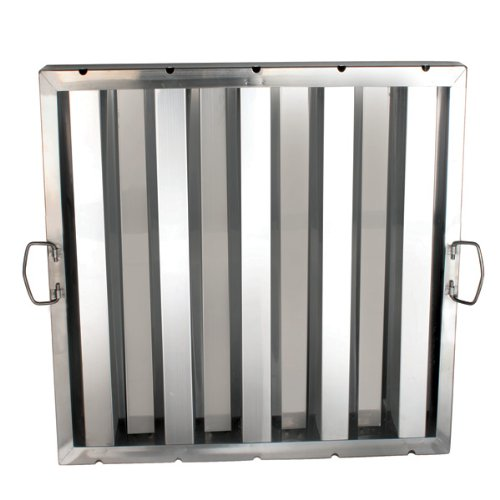 1 Each Hood Filter 20'' X 20'', Stainless Steel