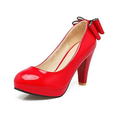 Le donne sexy elegante sandali donna tacchi Primavera Estate Autunno altri PU Office & Carriera Party & abito da sera Chunky Heel altri nero rosa rosso bianco altri , bianco , noi12.5 / EU45 / uk10.5