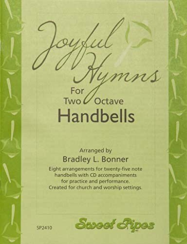 Bonner Joyful Hymns Book for 2 Octave Handbells (8 Hymns) ()