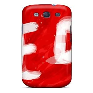 In Red/ Fashionable For SamSung Note 4 Case Cover