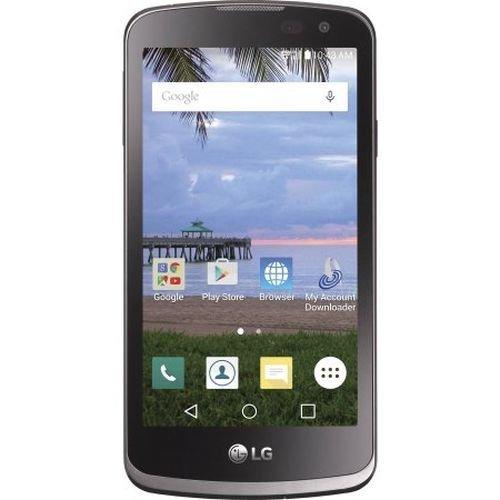 LG TFLGL43AGP4P Tracfone Rebel 4G LTE GSM WiFi 8GB 1.1GHz BT 4.1 ()