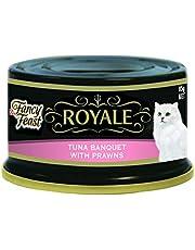 Fancy Feast Royale Tuna Banquet With Prawns, 24X85g