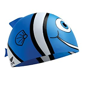 TYR Happy Fish Junior Silicone Cap