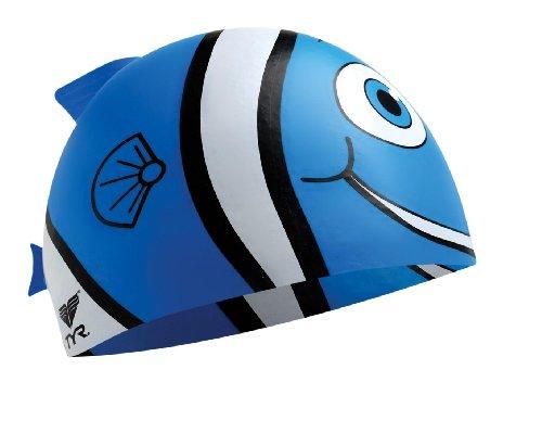 TYR Happy Fish Junior Silicone Cap
