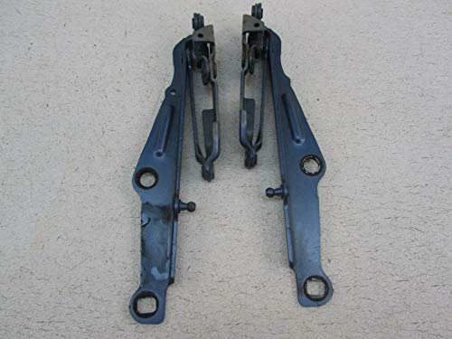 Morad Parts 07 Fits Dodge Charger Pair of Hood Hinges Left Right Driver Passenger Marine Blue