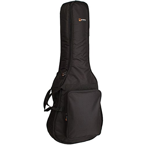 Protec 1/2 Dreadnought Guitar Gig Bag - Silver Series, Model (Series Dreadnought Guitar Case)