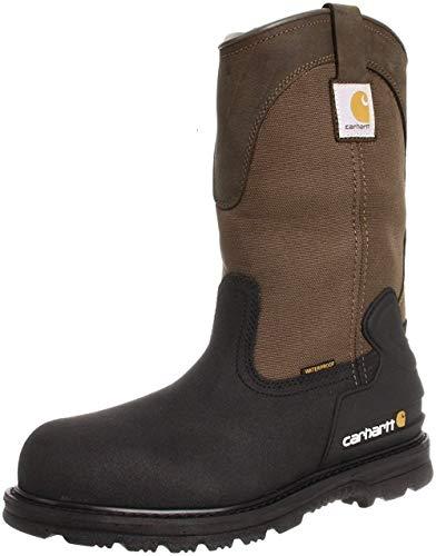Carhartt Men's 11' Wellington Waterproof Steel Toe Leather...