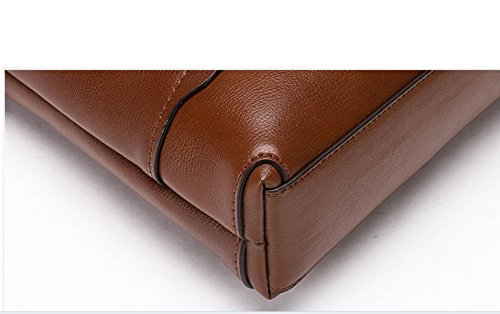 Briefcase Messenger Shoulder Laidaye Leisure Brown Multi Business Travel purpose Backpack CqStB