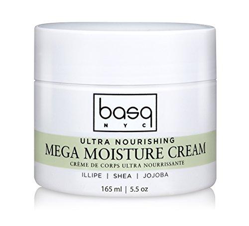 Shea Butter Mega Moisture - basq Mega Moisture Cream, 5.5 oz