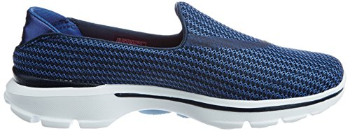 Blue Walk On Go 3 Navy Performance Skechers Walking Women's Slip Shoe v6Snxn