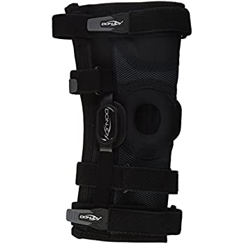 96426277f1 DonJoy Playmaker II Knee Support Brace with Patella Donut: Spacer Sleeve,  Medium
