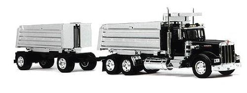 Die-Cast Truck Replica - Kenworth Double Dump Truck, 1:32 Scale, Model# 11943