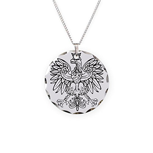 - CafePress - Polish Eagle - Charm Necklace with Round Pendant