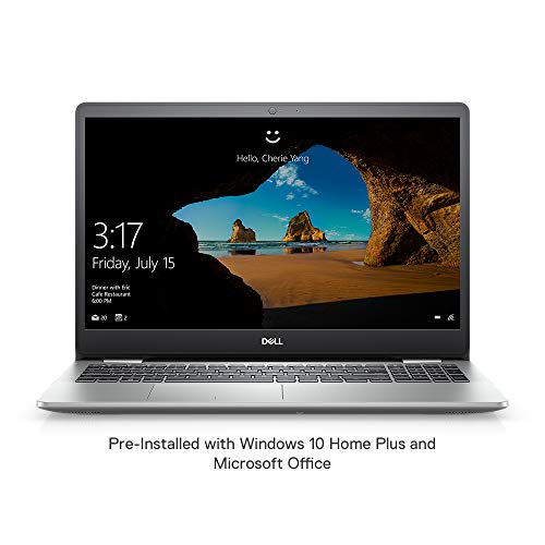 Dell Inspiron 5593 15.6-inch Laptop (10th Gen Core i5-1035G1/8GB/512GB SSD/Windows 10 Home Plus + MS Office/2GB NVIDIA MX230 GDDR5 Graphics), Platinum Silver