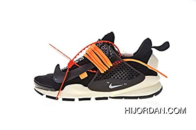 Running Panda 053 Orange Off White X Dart Chaussures Sock 819686 OPTZkiuX