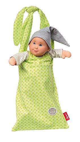(Sigikid Sigikid24926 Pallimchen Doll Green, Softdolls' Soft Toy-34 x 11 x 10 cms, Multi Colour, 34 x 11 x 10)