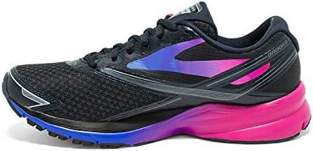 کفش های کتانی زنانه بروکس (Bruks Womens 4) ، کفش مشکی ، مشکی / فوچیا بنفش / آبی خیره کننده ، 10