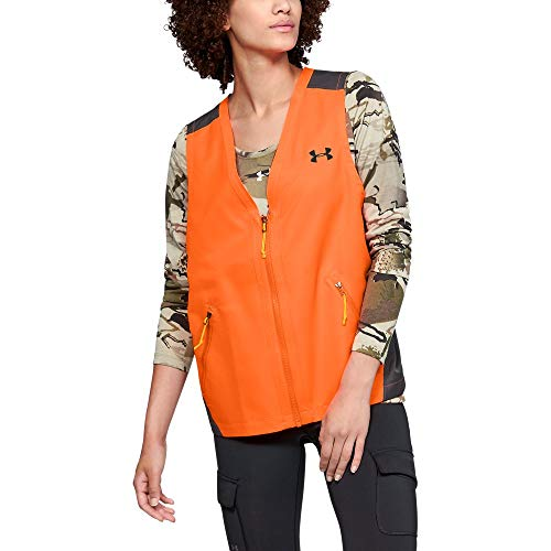 Under Armour Women's Blaze Vest, Blaze Orange, Medium ()