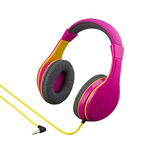 eKids Headphones for Kids, Wired Headphones for School, Home or Travel, Tangle Free Stereo Headphones with Parental…