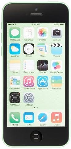Apple iPhone 5c Unlocked Cellphone, 16GB, Green (Iphone 5 C 16 Gb Unlocked New)