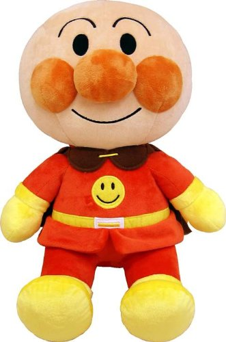 Anpanman Funwari Smile Soft Toy (M)