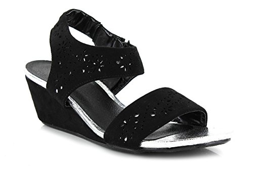 Nu E101 Sandales Fille Délires pieds De Noir Femme qIw6UR