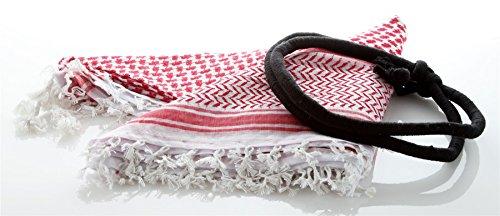 [Arab Tactical Shemagh Keffiyeh Scarf Army Military Desert Check Wrap headband] (Ethnic Dance Costume)