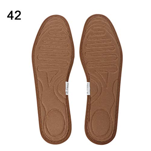 Sixsons Buffering Sports Shoe Pad - 1 Pair Shoe Pads Deodorant Anti Bacterial Flattie Shoes Bamboo Carbon Breathable Sweat Absorb Insole Pain Relief Cushion Non Slip Support