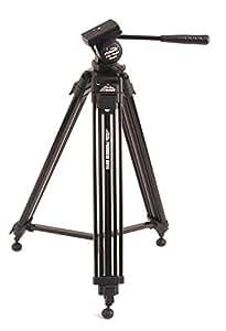 Davis & Sanford PROVISTA6510 - Trípode para cámaras de fotos y videocámaras (152 cm), color negro