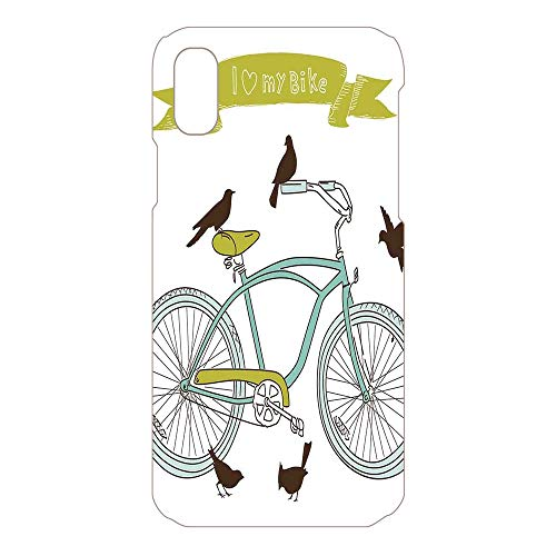 Phone Case Compatible 3D Printed 2018 Apple iPhone Xs MAX DIY Fashion Picture,Birds on The Seat Cruisers Basic Vehicle,Lovely Personalized Hard Plastic Phone Case Fashion Stylish
