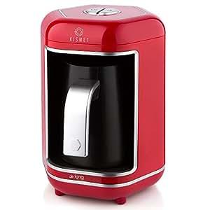 King K 605 Kısmet Türk Kahvesi Makinesi, Kırmızı
